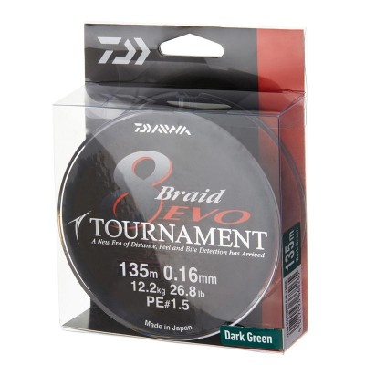 DAIWA TOURNAMENT - 0.14 MM.